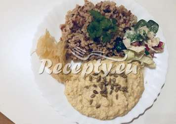 Hummus ze suché cizrny
