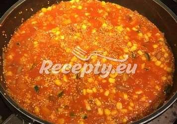 Levná večeře -mexické fazole