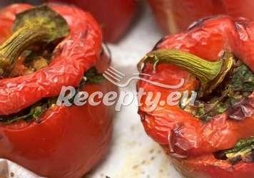 Paprika plněná fazolemi