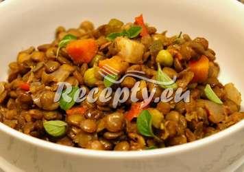 Pikantní čočka se zeleninou Luštěniny