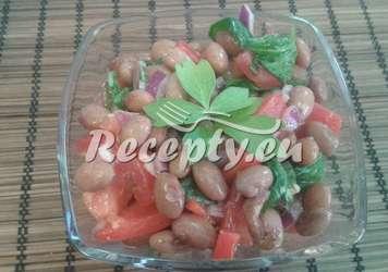 Salát ze suché fazole