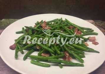 Smažené zelené fazolky